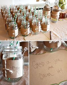 for party cups, jars, or water bottles