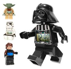 Star Wars alarm clock - Darth Vader, Yoda, Stormtrooper & Anakin!