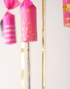 Make your own confetti poppers. Diy New Years Eve Decorations, Birthday Party Decorations Diy, Diy Birthday, Gold Birthday, Birthday Parties, Graduation Parties, Nye Party, Festa Party, Party Kit