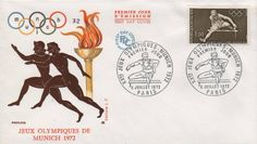 Timbre : XXES JEUX OLYMPIQUES - MUNICH 1972   WikiTimbres