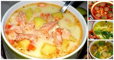 Here are recipes 10 simple, but incredibly delicious soups, at least of which should be in the Arsenal of every housewife. 10 most delicious of so. Seafood Soup, Seafood Recipes, Soup Recipes, Salad Recipes, Cooking Recipes, Healthy Recipes, Russia Food, Russian Recipes, Saveur