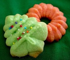 Mirro Christmas Tree Cookies. My all time favorite Christmas cookie! We usually make 8 dozen of these.