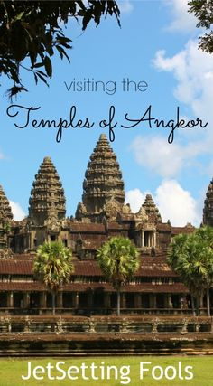 Visiting the Temples of Angkor was the main reason for our trip to Siem Reap and we got to it straight away. Through our hotel, we booked a tuk-tuk and a personal guide for a 7:30am departure and prepared fora full day of visiting the Temples of Angkor.
