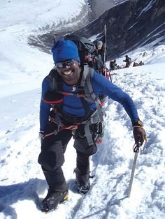 Rising above his lowly circumstances, real-life hero Sibusiso Vilane became the first black African to summit Everest twice and by two different routes. He has since completed the Seven Summits and the Three Poles Challenge – becoming one of only 38 people to have completed the 'Explorers Grand Slam'. Read all about his amazing life - www.intrepidexplorer.co.za