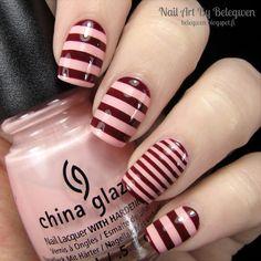 Nail Art By Belegwen: China Glaze Pink Of Me and Lumene Farewells