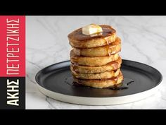 Make these Ultimate Pancakes by Greek Chef Akis. The most delicious, the best recipe for pancakes you've ever tried. Serve them with honey, maple syrup or any of your favorite t. Pancake Kitchen, Best Pancake Recipe, Sweets Recipes, Desserts, Chocolate Heaven, Breakfast Time, Cravings, Pancakes, Sweet Tooth