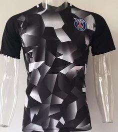 2017 Training Jersey PSG Shirt White Black 2017 Training Jersey PSG Shirt  White Black  6ebf422164547