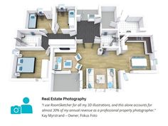 See how you can add 3D visualization to you real estate and property photography services with RoomSketcher Pro. http://www.roomsketcher.com/real-estate/real-estate-photography/ #realestate #realestatephotography #propertyphotography