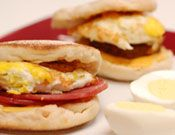 Breakfast Sandwich & Hard Boiled Eggs - Nuwave Cooking Club