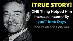 Yes, I know that increasing #income by 700% in 10 days and thanks to only one thing may sound a little bit suspiciously but it's a true story that may inspire also you.  Go here find out how this man did it:  http://michaelkidzinski.ws/one-thing-that-helped-him-increase-income-by-700-in-10-days/