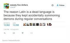 Latin problems