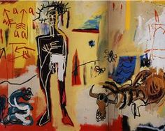 Poison Oasis, 1981, - Jean-Michel Basquiat
