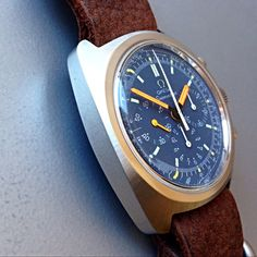 """omegaforums: """" Vintage Omega Seamaster Chronograph In Stainless Steel Circa…"""