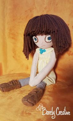 Fran Bow Game Plush Doll ♥