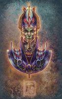 Osiris por DjeDjehuti