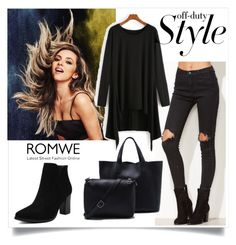 """""""#5/2 Romwe"""" by almira-mustafic ❤ liked on Polyvore"""