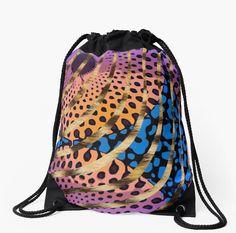 Cheetah Ankara Pattern Swirl-Pink
