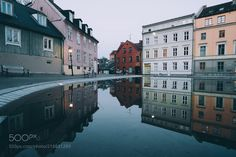 Damstredet Mirror by TorHotvedt