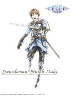 HRPG- Swordsman Italy by koulin.deviantart.com on @deviantART