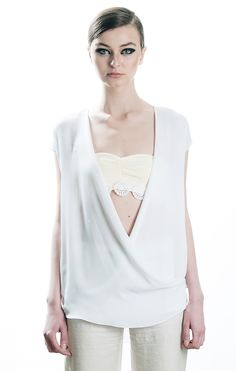 Crisscross blouse, me spring / summer 2013, 49€
