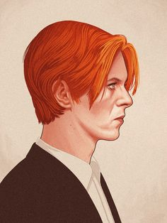 mike-mitchell-movie-characters-illustrations-10 Bowie fabulous bowie
