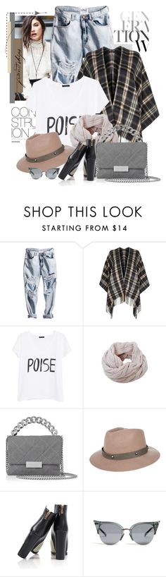 """""""Untitled #2287"""" by bellerodrigues ❤ liked on Polyvore featuring Free People, River Island, MANGO, Humble Chic, STELLA McCARTNEY and Rusty"""