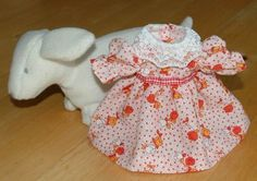 Tulip Dress Pattern for 8 Inch Vogue Ginny Doll and Other Slim 8 Inch Dolls