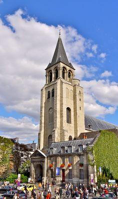 The Abbey of Saint-Germain-des-Prés in Paris