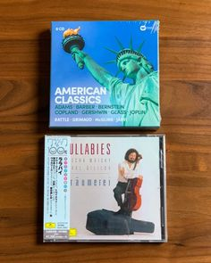 タワーレコード・クラシックさんから今月は「年始にオススメしたいアルバムをセレクト」ということで、アルバム2作品(CD7枚!)が届きました🎵 #サブスク  #サブスクリプション  #サブスクリプションボックス  #定期便 American, Cover, Books, Libros, Book, Book Illustrations, Libri