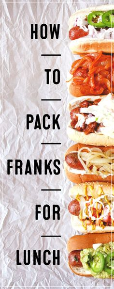 5 recipes that you'll want to make again and again! If you've been under the impression that hot, juicy franks are just for weekend barbecues and ball games, you're going to want to reconsider that notion.