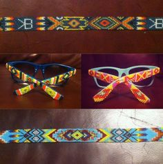 AWSOME bead work! You can order yours Today! Courtney does custom designs ,sunglasses, Hat bands, Headbands , Belts and more! Great Gifts For any Holiday!! Email her today! Buckwildbeadding @Robyn Miner.com