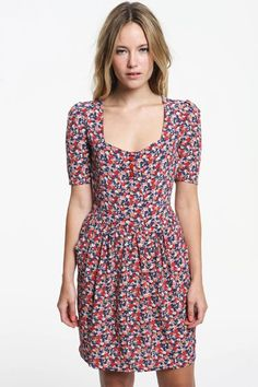 flower dress Urban Outfitters magalief
