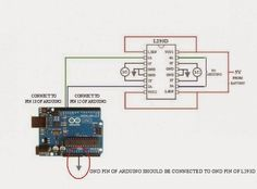 Funny Electronics: Control DC Motor Direction Using L293D Motor Driver and Arduino