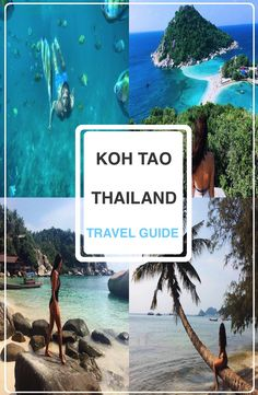 Koh Tao is a small island positioned on the western shore of the Gulf of Thailand. Explore the very popular island for backpackers and travellers. Fiji Travel, Thailand Travel Guide, Visit Thailand, Asia Travel, Travel Box, Travel Plan, Koh Phangan, Pattaya, Phuket