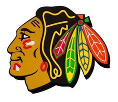 Chicago Blackhawks 3D Fan Foam Logo Sign