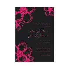 pink and black wedding - Bing Images