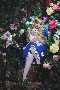 Alice in Wonderland by AnnaProvidence on DeviantArt Alice In Wonderland Photography, Alice In Wonderland Pictures, Alice In Wonderland Theme, Adventures In Wonderland, Alice Cosplay, Alice Costume, Cosplay Girls, Alice Sweet Alice, Princess Alice