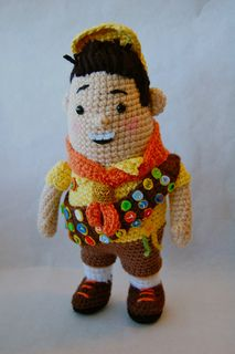 Wilderness Explorer Scout Amigurumi  pattern $$