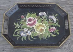 Buy Hand Painted Tole 385 items on Bonanza