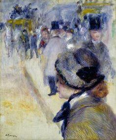 Pierre Auguste Renoir (Frankrijk 1841-1919) Place Clichy, 1881