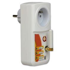 IQsocket - Smart GSM switch. Control socket power over SMS , call or bluetooth. Ideal for remote control for cottages, SOHO and service providers.