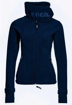 Long fleece bench jacket