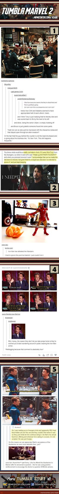 Tumblr Marvel #2...I apologize in advance for the language, but some of these are funny