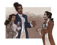 hamilton musical marquis de lafayette - Google Search