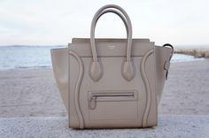 Céline Mini Luggage Sand