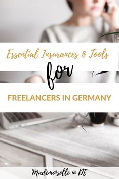 Are you an expat freelancer in Germany or want to become self-employed soon? This article covers an overview of not only the insurances that you will need but also some essential tools for your business. Business Liability Insurance, Moving To Germany, Business Bank Account, Private Health Insurance, Work Visa, Work Abroad, Learn German, Essentials