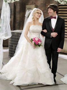 Howard and Bernadette, so cute
