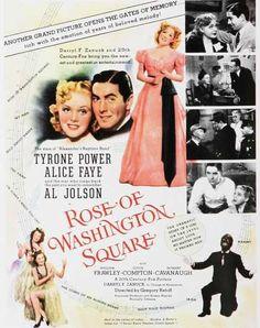 Rose of Washington Square (1939)  Tyrone Power & Alice Faye