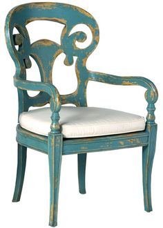 Layla Grayce - Verona Club Arm Chair $1198.00. NO OFFENSE Layla Grayce... But I guarantee I can find a chair, even antique perhaps, and paint/distress it myself for a Fraction of this price...