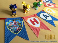 Hey, I found this really awesome Etsy listing at https://www.etsy.com/listing/235848490/paw-patrol-birthday-banner-paw-patrol